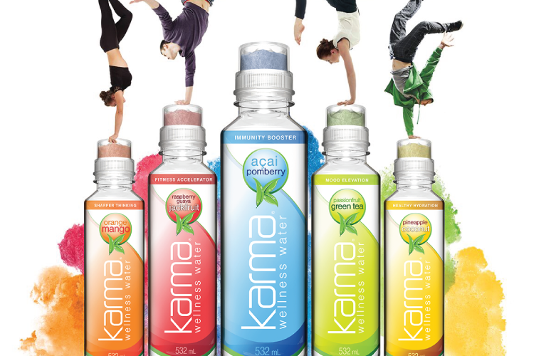 EG Industries and Karma Wellness Water Featured on TV